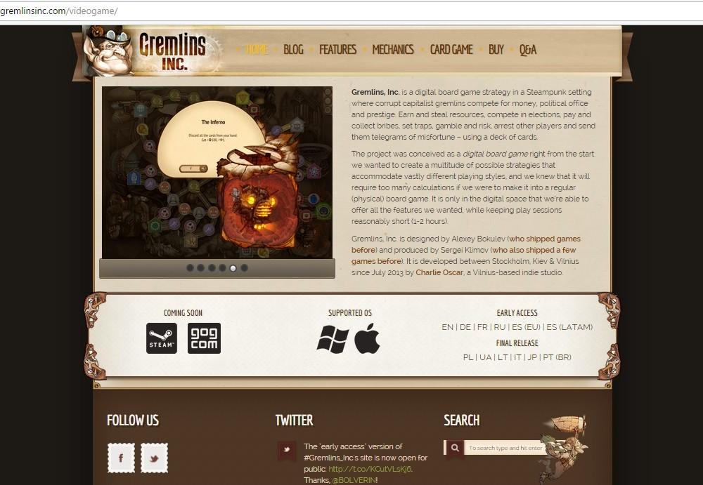 Gremlins - videogame